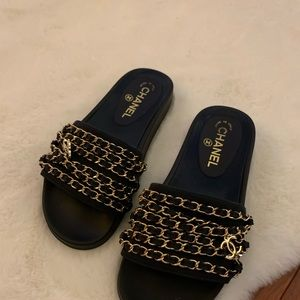 Chanel Chain Slides